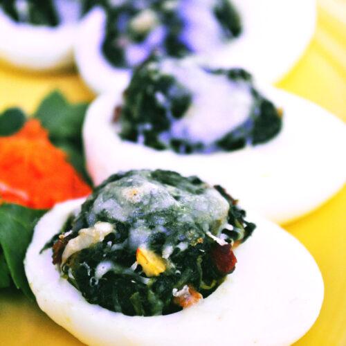 Egg White Rockefeller