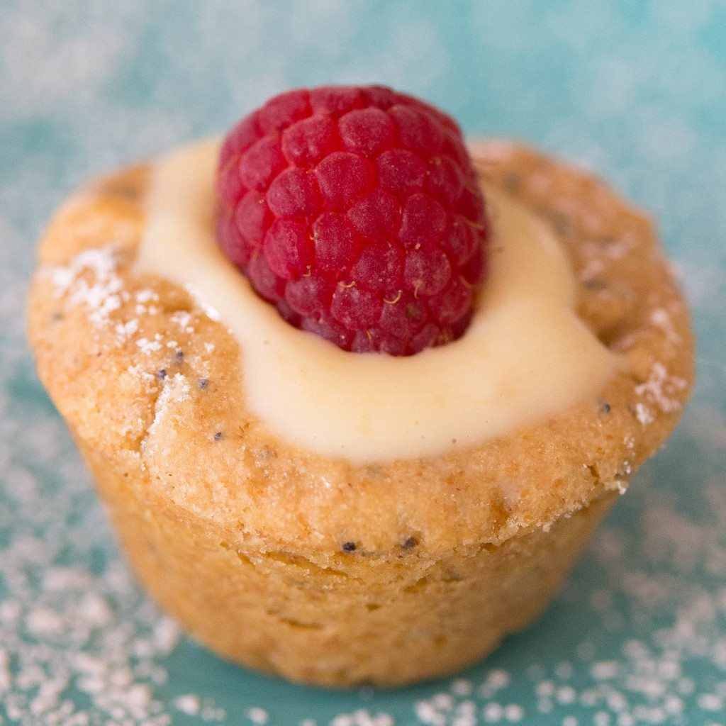 Lemon Blossom Thumbprint Cookie Cups