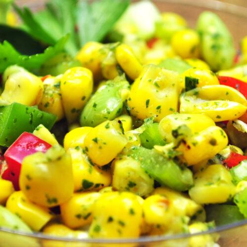 Summertime Succotash Salad