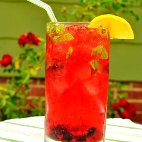 Mixed Berry Mojito