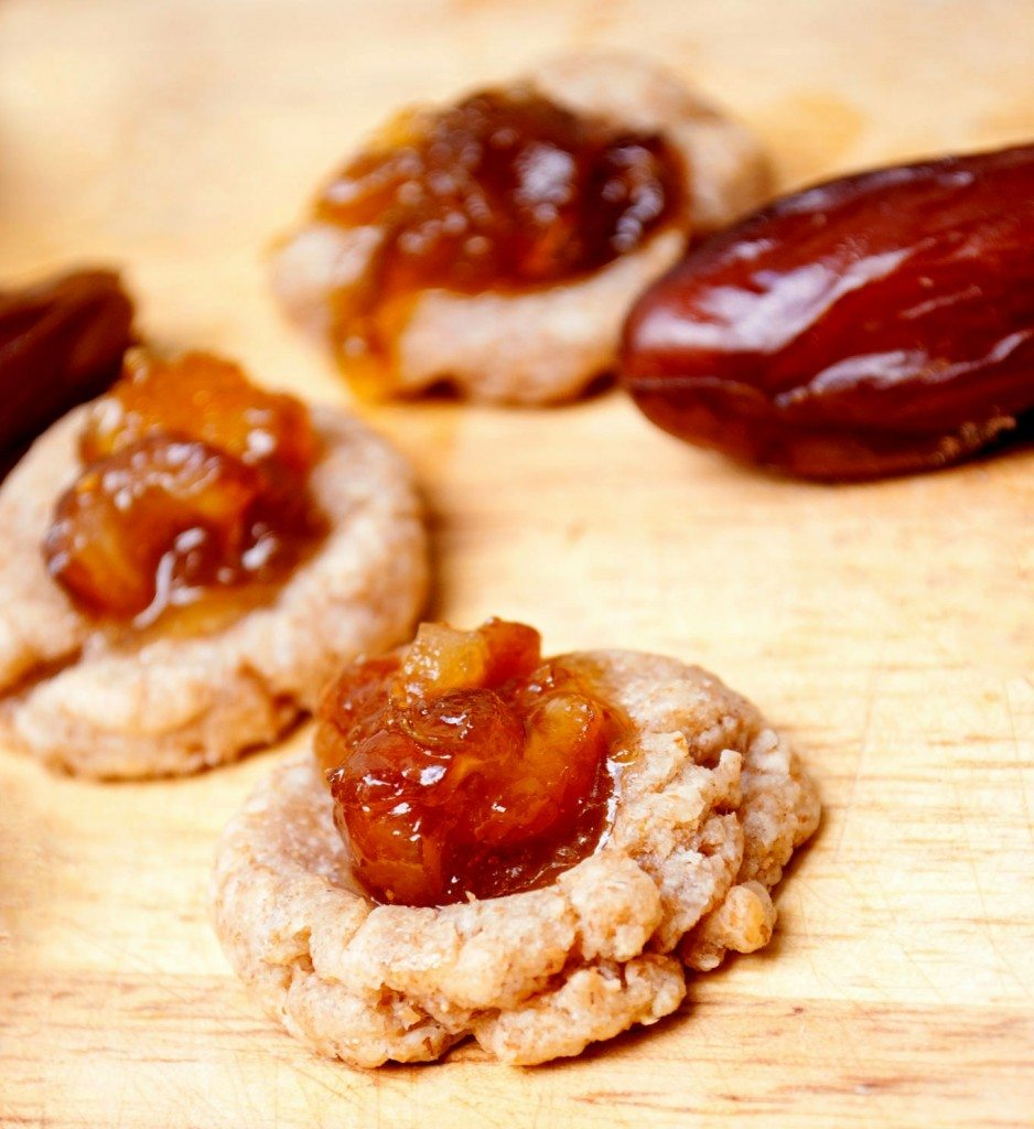 Fig-nomenal Cheese Date Thumbprint Crackers