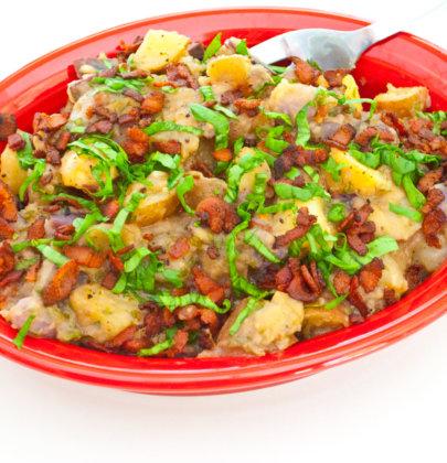 Red, White, & Blue Potato Salad