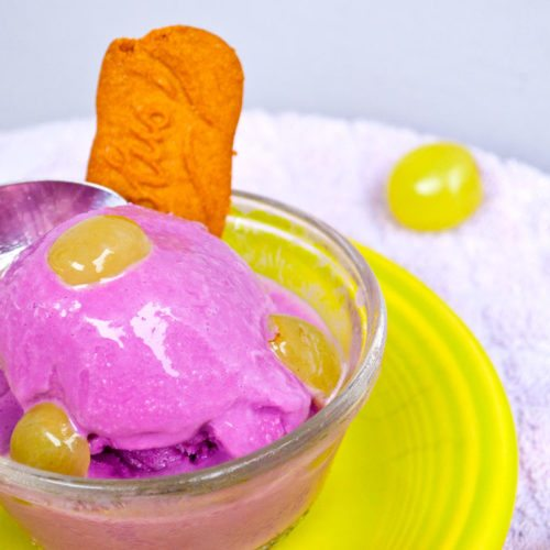 Frozen Grape Fro-Yo