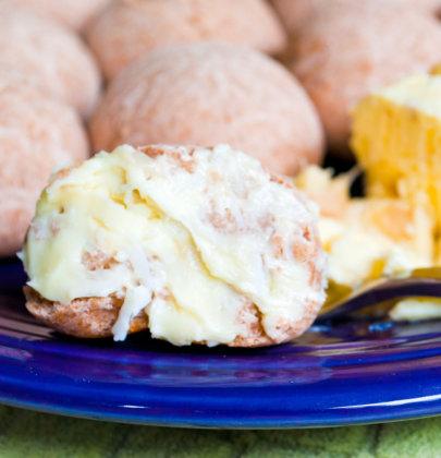 Taro Rolls w/ Coconut Lychee Butter
