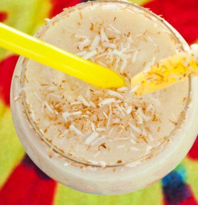 Skinny Toasted Coconut Colada