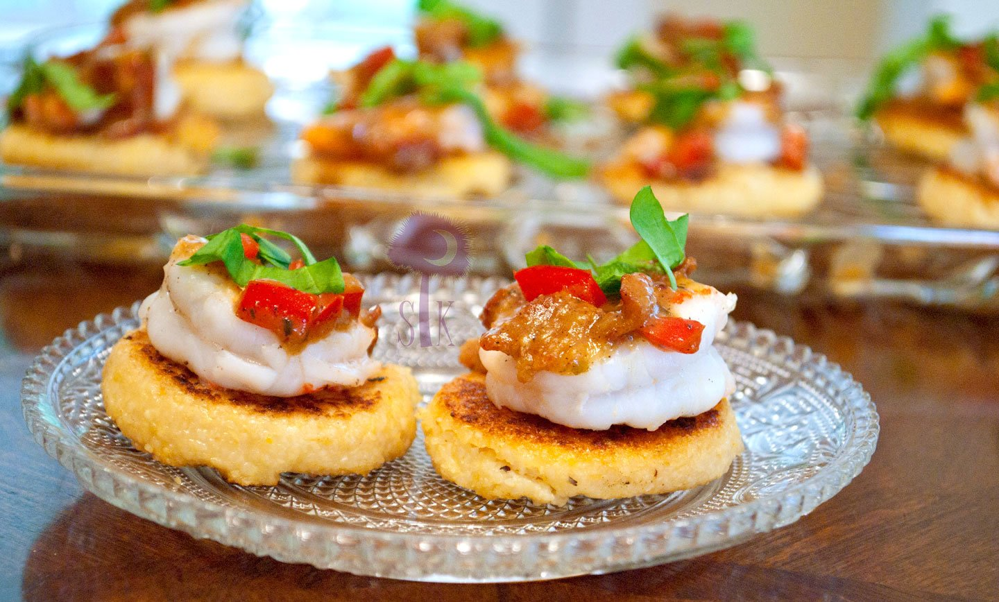 Shrimp canapes images galleries with for Canape buffle