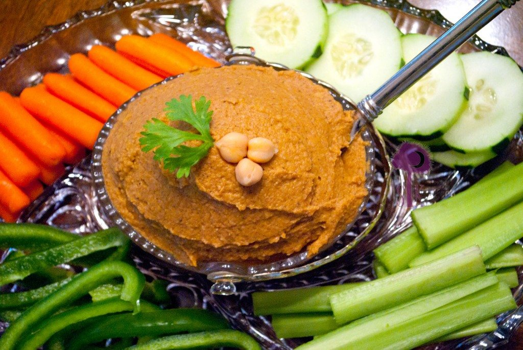 Savory Sweet Potato Hummus