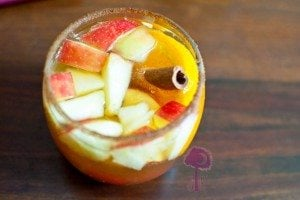 Autumn Apple Cider Sangria
