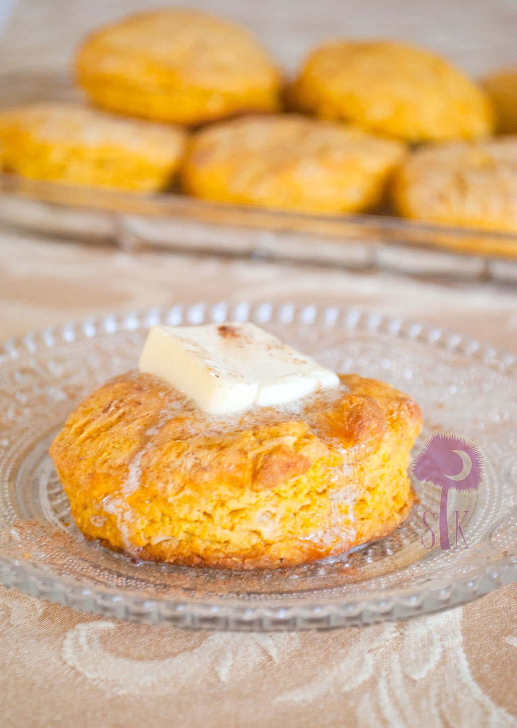 Super Simple, Made From Scratch Sweet Potato Biscuits