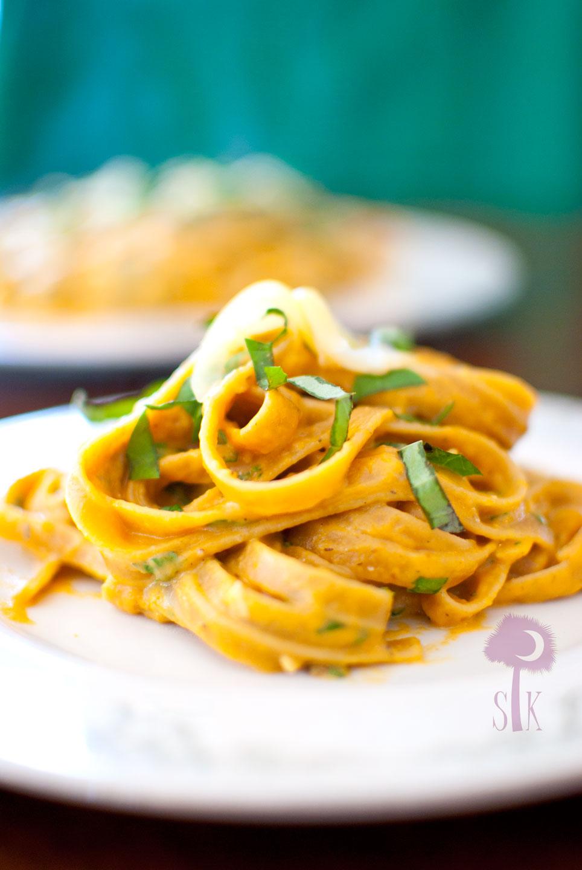 Pumpkin Parmesan Fettuccine Alfredo ⋆