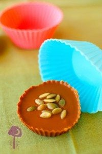 Pumpkin Stuffed Cinnamon Candy Cups