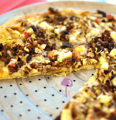 Pear & Pecan Pizza Pie