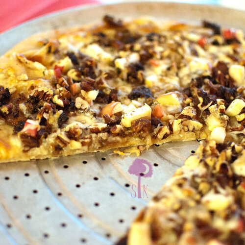 Pear & Pecan Pizza Pie