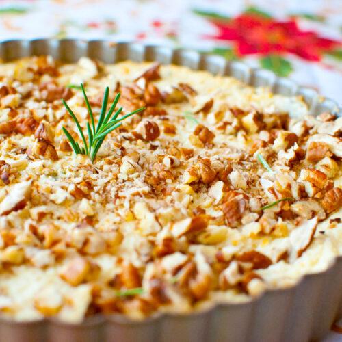 Sweet & Savory Pineapple Pecan Spread