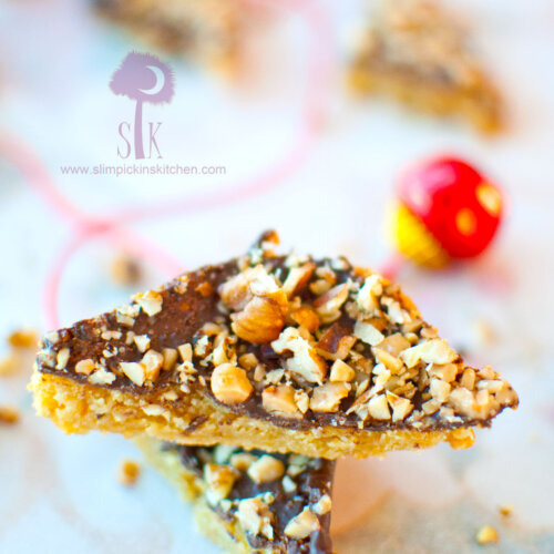 Buttery and Crumbly Toffee Bar Bites