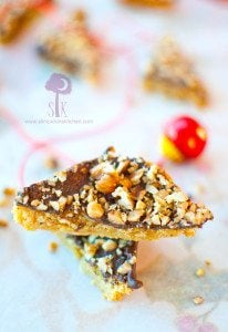 Buttery & Crumbly Toffee Bar Bites
