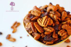 Garam Masala Spiced Nut Mix