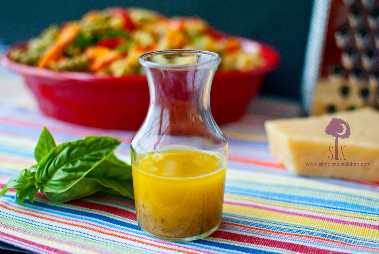 salad with basil tapenade vinaigrette fresh basil pesto fresh basil ...