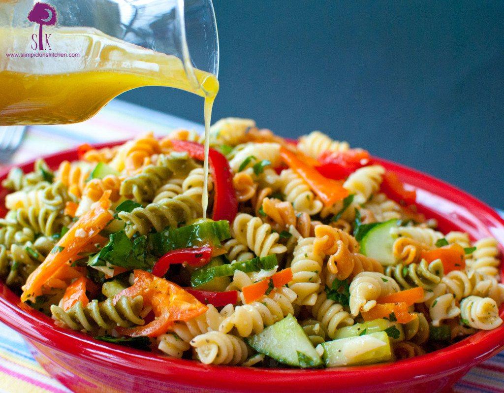 Meyer Lemon & Sweet Basil Dressing ⋆ Slim Pickin's Kitchen