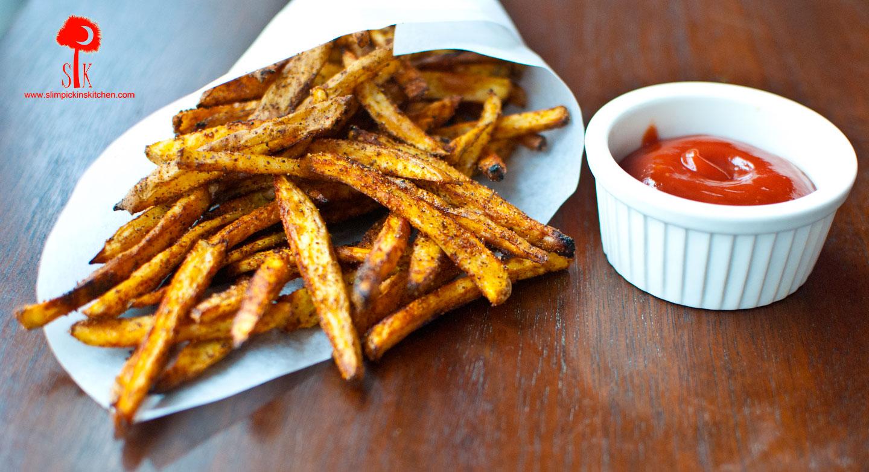"""Crispy Oven Baked """"Bojangles"""" French Fries ⋆"""