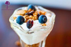 Healthy Blueberry Pie Granola