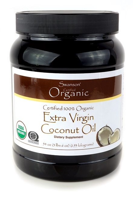 swanson's extra virgin coconut oil