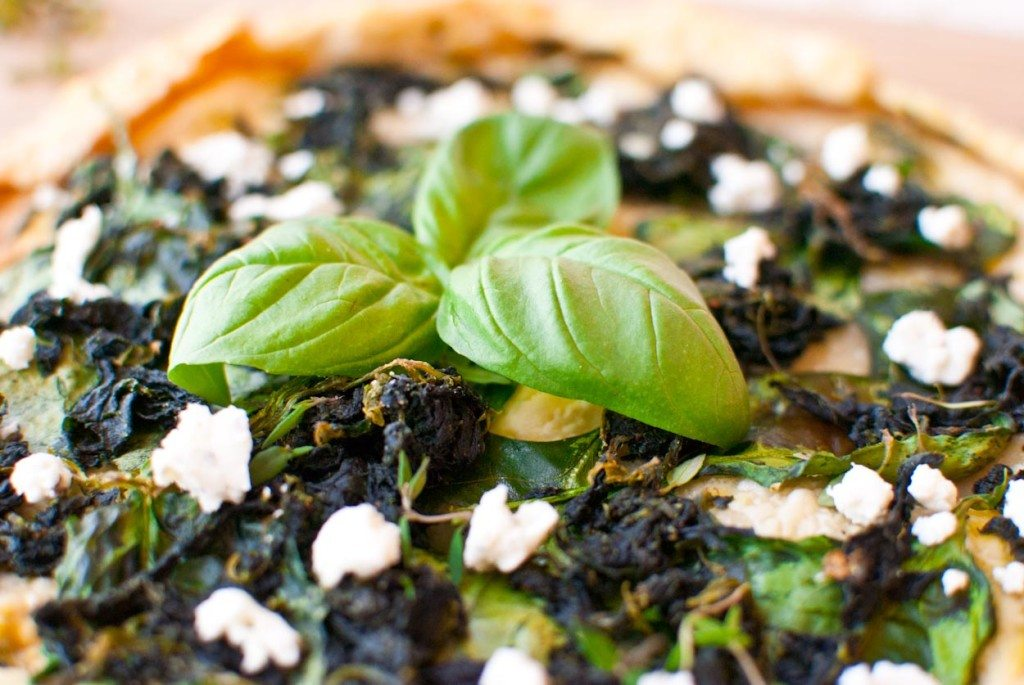 Spinach and Goat Cheese Galette-003