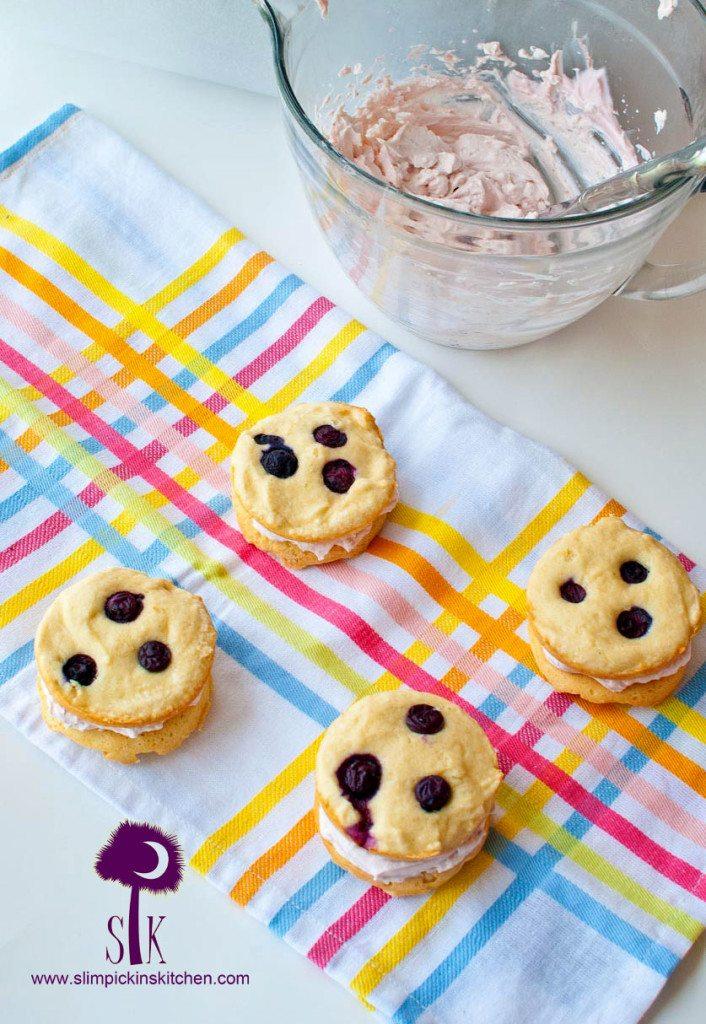 Berry Vanilla Whoopie Pies 5