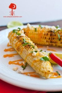 Mexican Street Corn w/ Honey Buffalo Butter & Gorgonzola Cheese