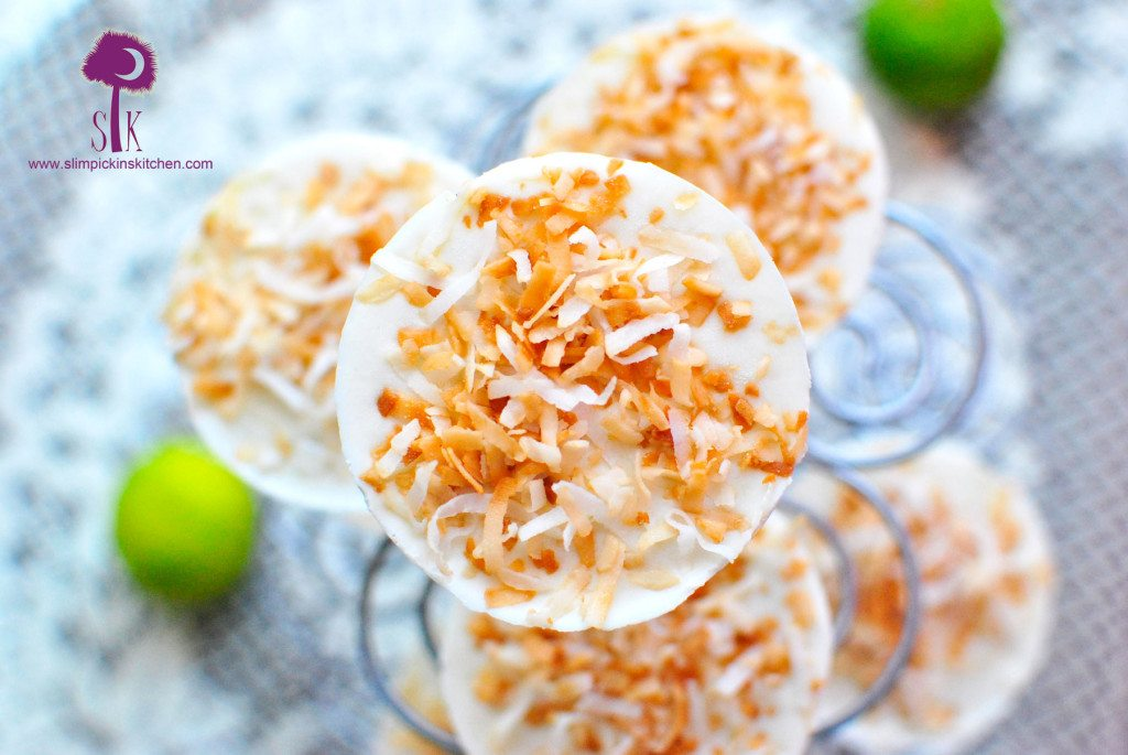 Mini-Frozen-Coconut-Cream-Key-Lime-Cheesecakes-3