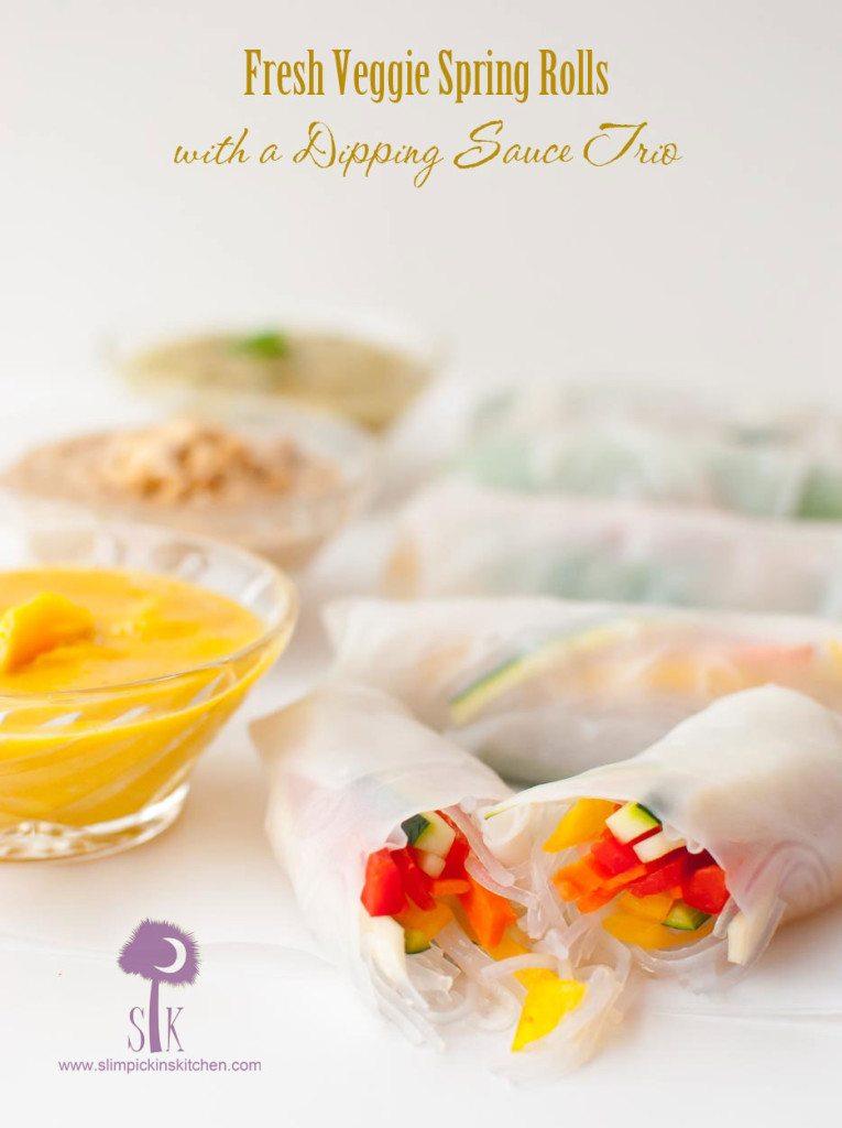 Fresh-veggie-spring-rolls-with-sauce