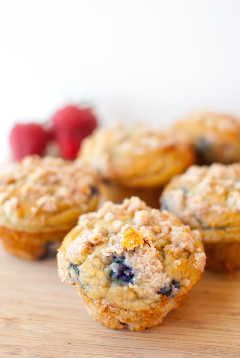 Jumbo Grain Free Double Berry Crumble Muffins-036