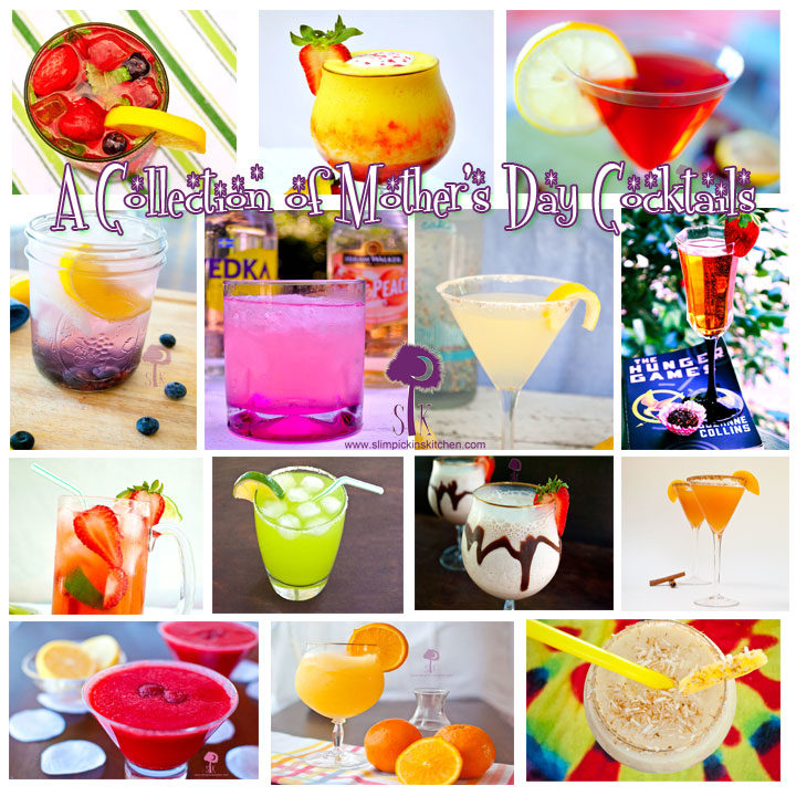 A Collection of Low Calorie Mother's Day Cocktails
