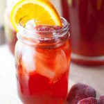 Southern Style Strawberry Sweet Tea for Memorial Day