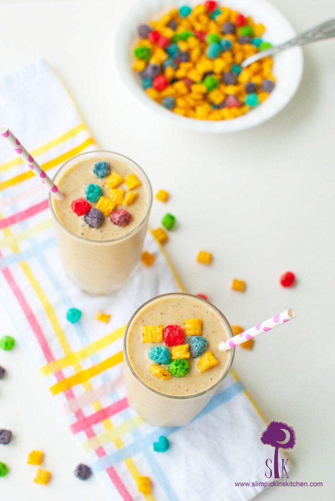 Crunch Berry Breakfast Shake   Banana Smoothie Recipe