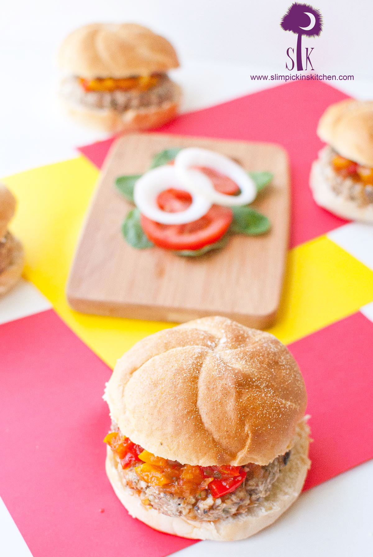 Gluten-Free-Black-Eyed-Pea-Burgers-with-a-Sweet-Chili-Pepper-Chutney-1
