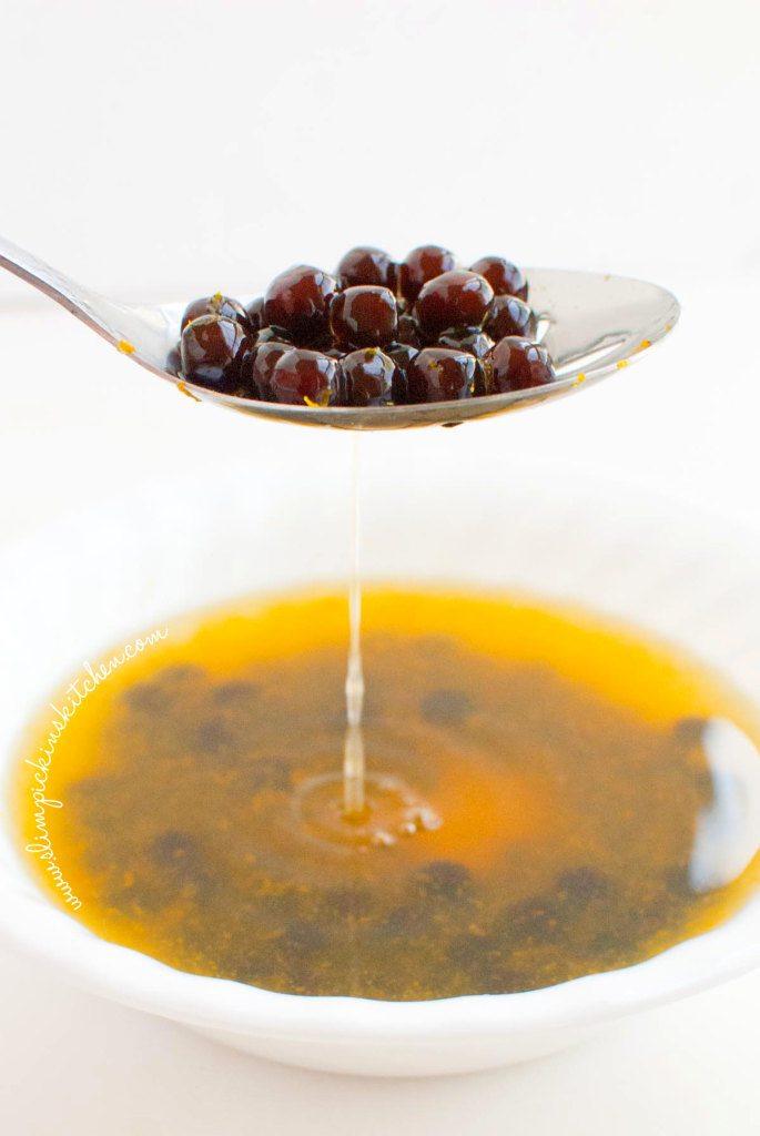 Frozen Chocolate Orange Bubble Tea