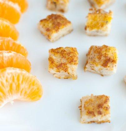 Organic Pumpkin Spice French Toast Bites