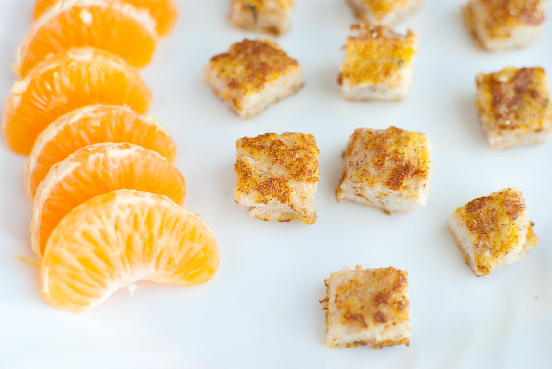 Munchkin Monday: Organic Pumpkin Spice French Toast Bites