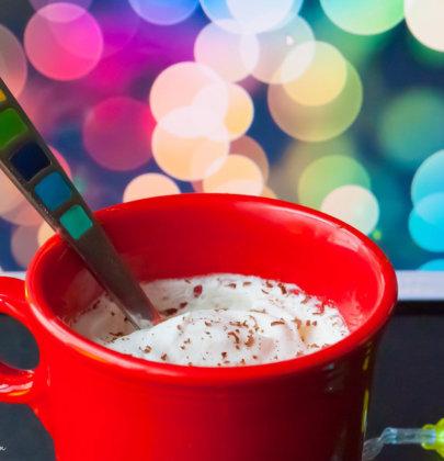 Healthy, Gluten-Free Peppermint Mocha Mug Cake & A SweetLeaf Stevia® Sweet Drops™ Giveaway!