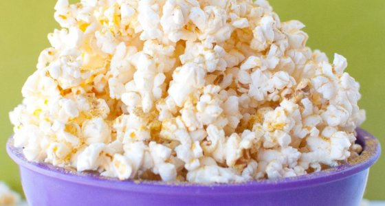 Butter Free Microwave Popcorn w/ Noocho Cheese