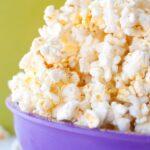 Vegan Noocho Cheese Popcorn * Slim Pickin's Kitchen