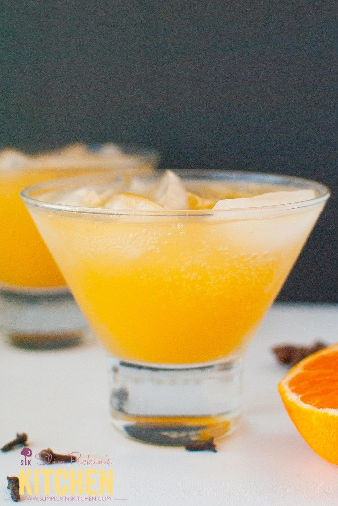 Clementine & Clove Moscow Mule * Slim Pickin's Kitchen