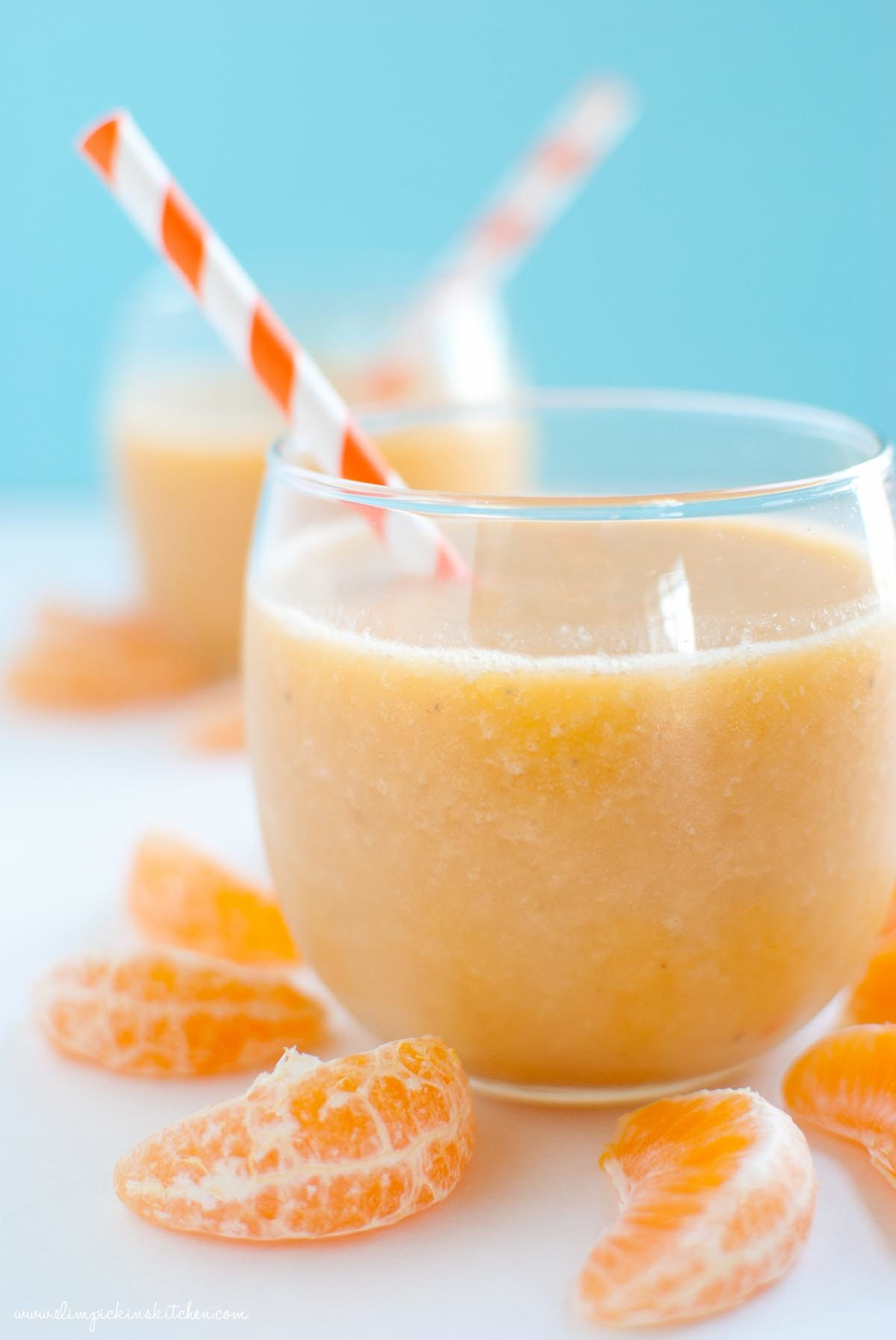 Sunshine Clementine Creamsicle Smoothie * Slim Pickin's Kitchen