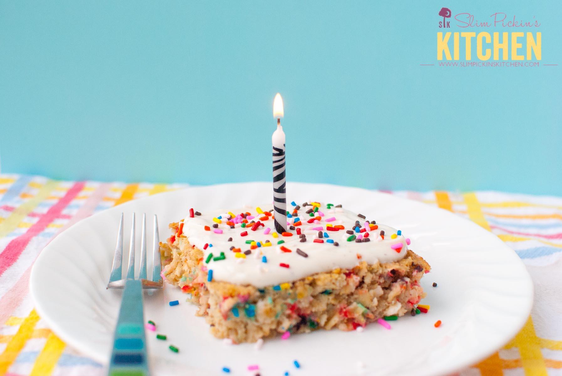 Funfetti Cake Breakfast Bake