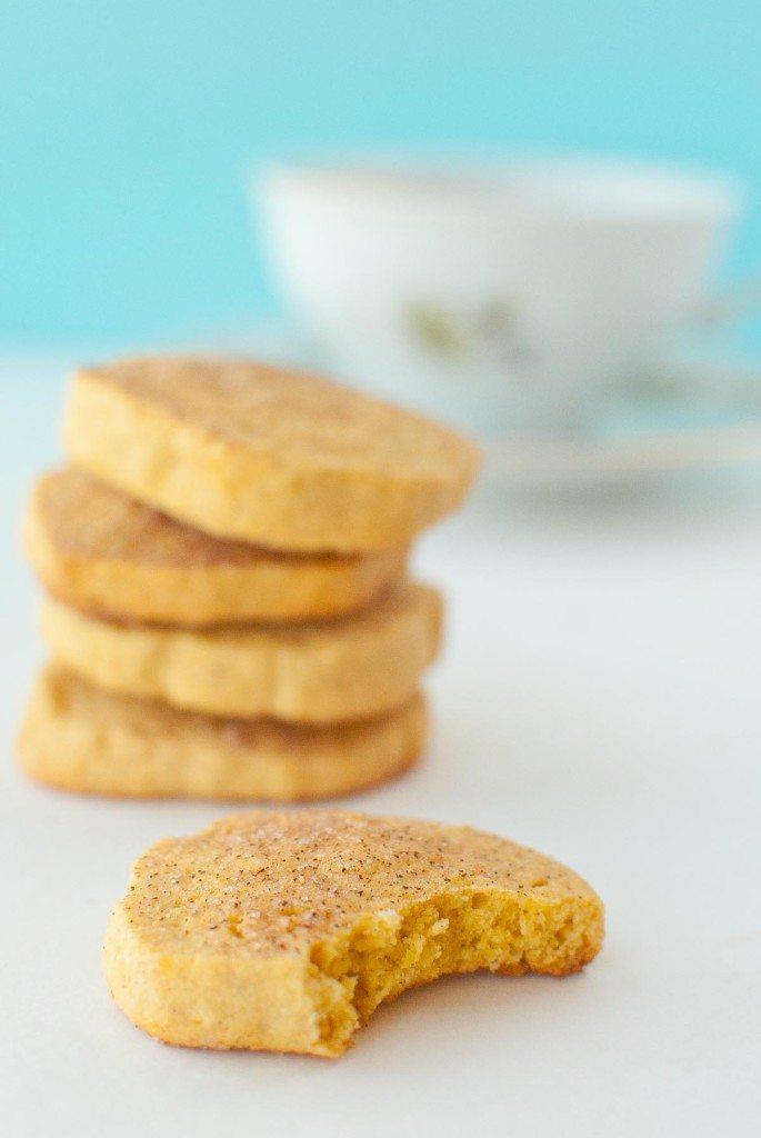Gluten-free Sweet Potato Snickerdoodle Shortbread * Slim Pickin's Kitchen