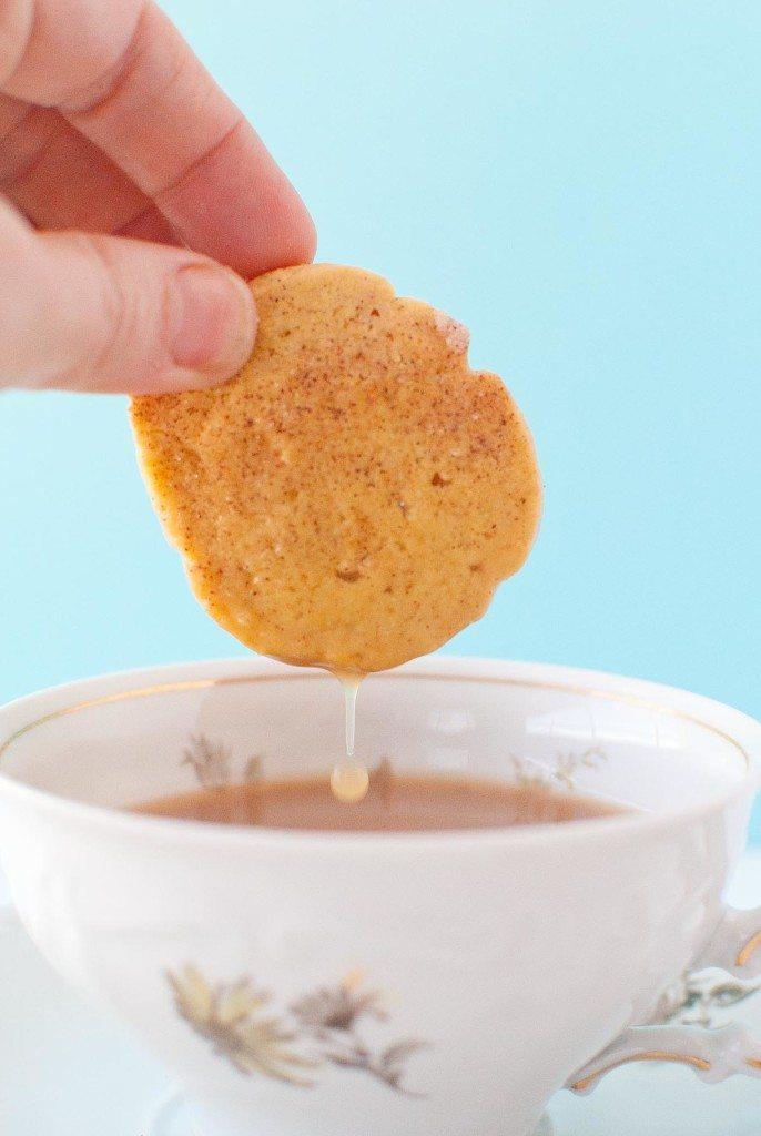 Gluten Free Sweet Potato Snickerdoodle Shortbread * Slim Pickin's Kitchen