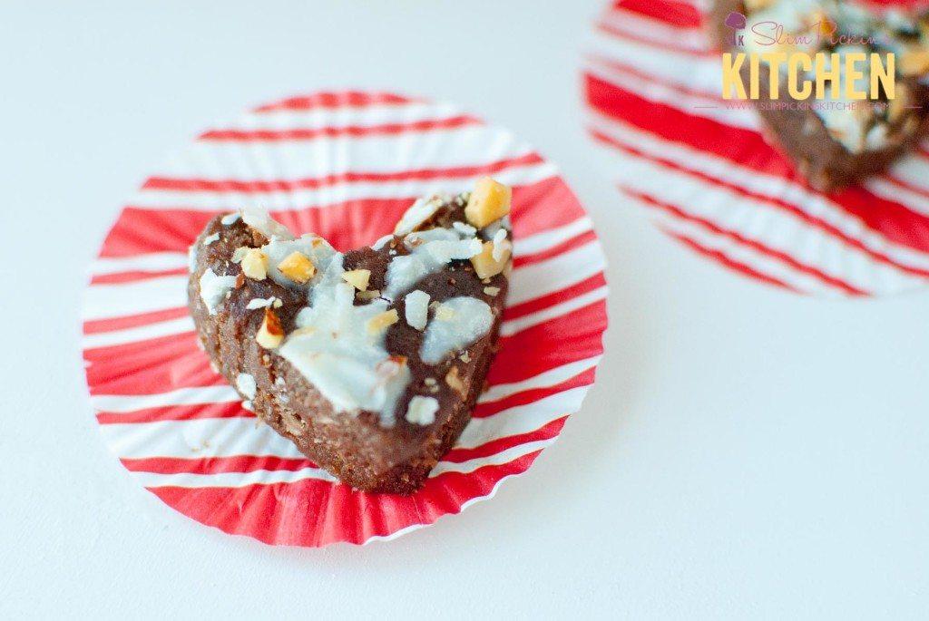 Paleo Almond Joy Brownie Bites * Slim Pickin's Kitchen