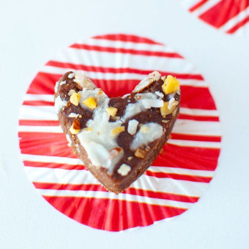 Paleo Almond Joy Brownie Bites