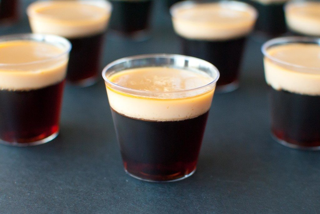 Baby Guinness Jello Shots for Saint Patrick's Day